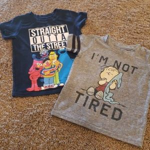Other - Boys t-shirts size 12-18mths
